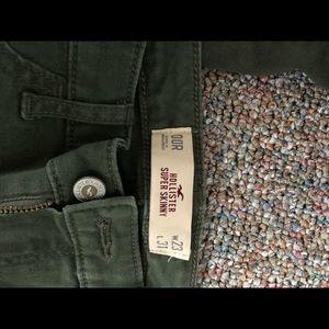 Hollister 00 reg skinny pants